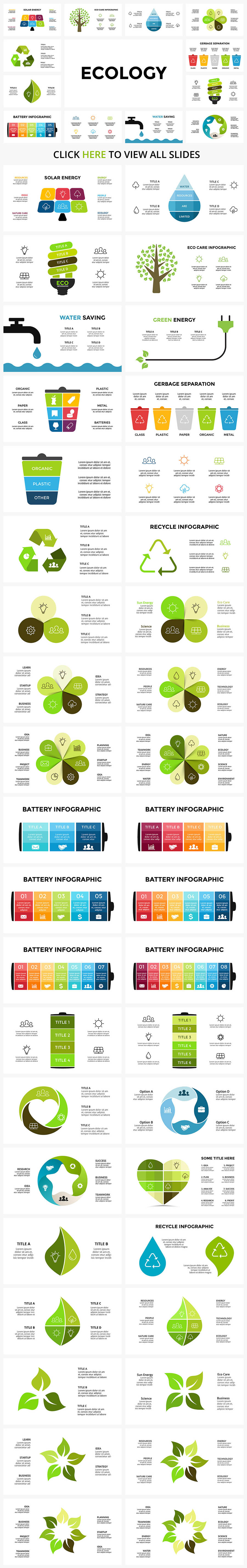 Cool Infographics in 2020. Best Infographics Bundle: 1500 items - $29 - 04 ECOLOGY