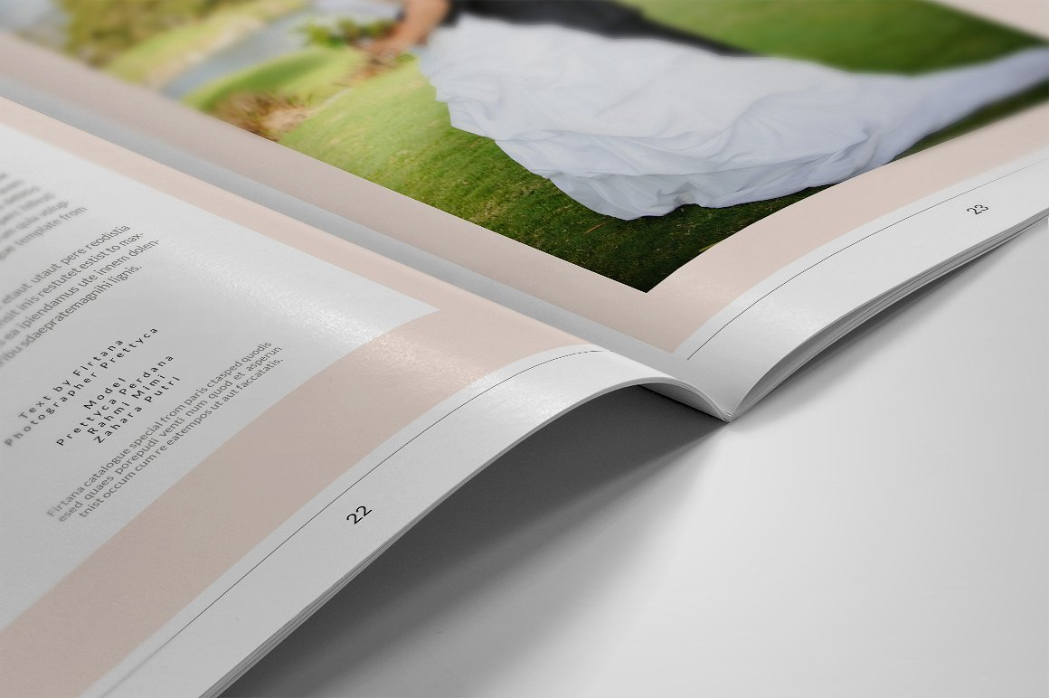 28 Page Indesign Photo Album Template  - $5 - 10