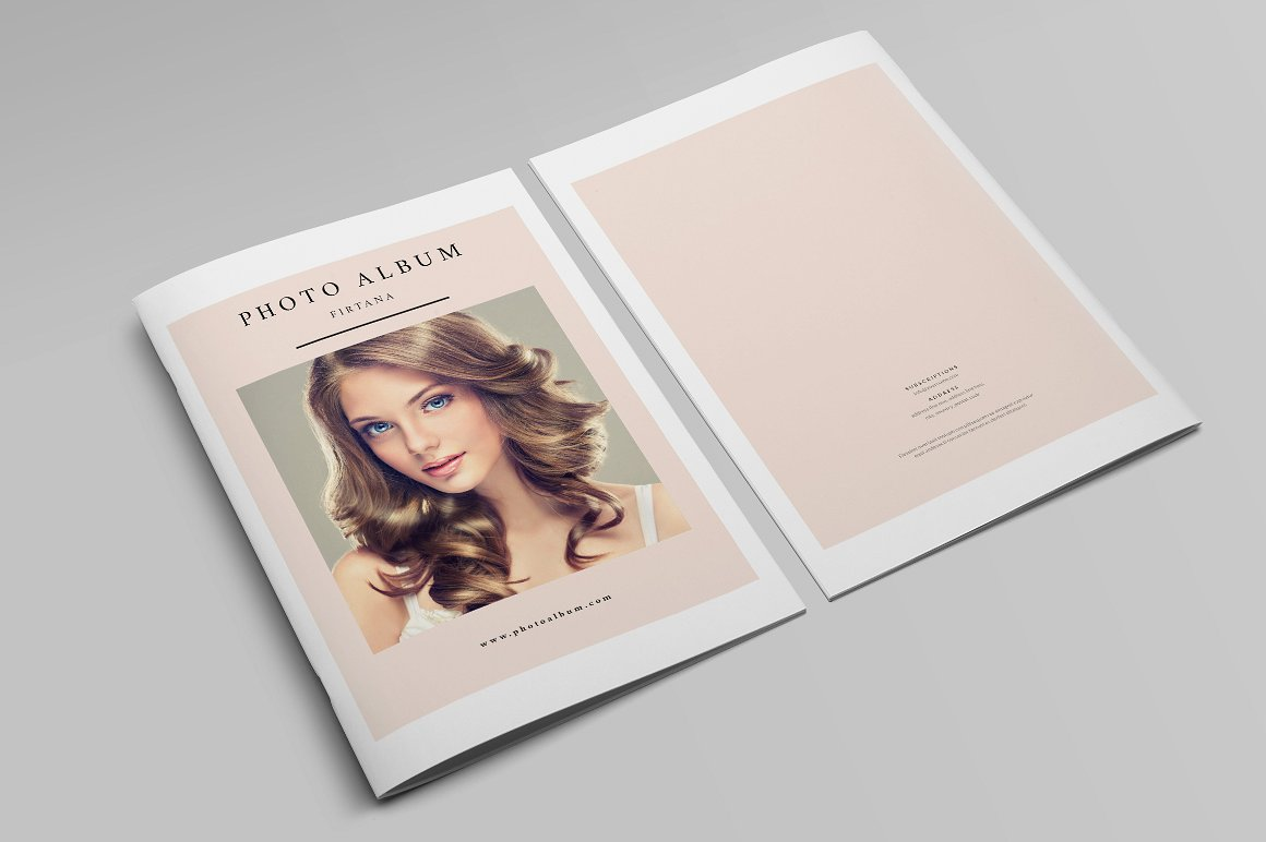 28 Page Indesign Photo Album Template  - $5 - 11