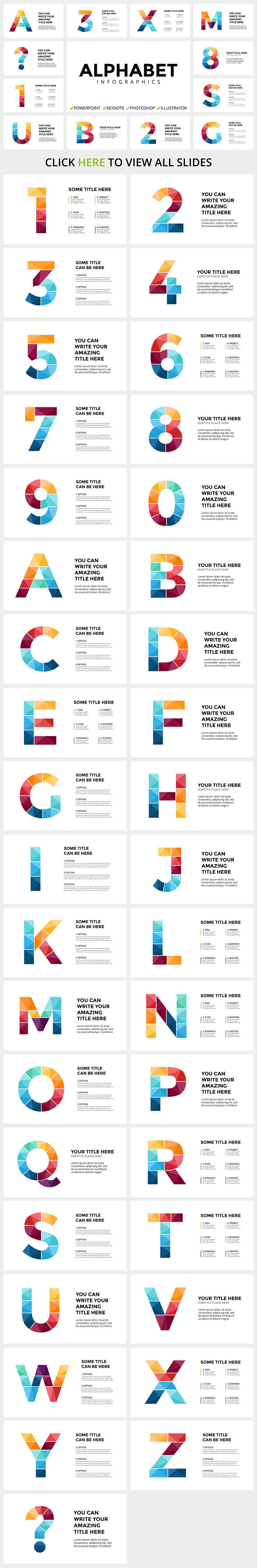 Cool Infographics in 2020. Best Infographics Bundle: 1500 items - $29 - 13 ALPHABET