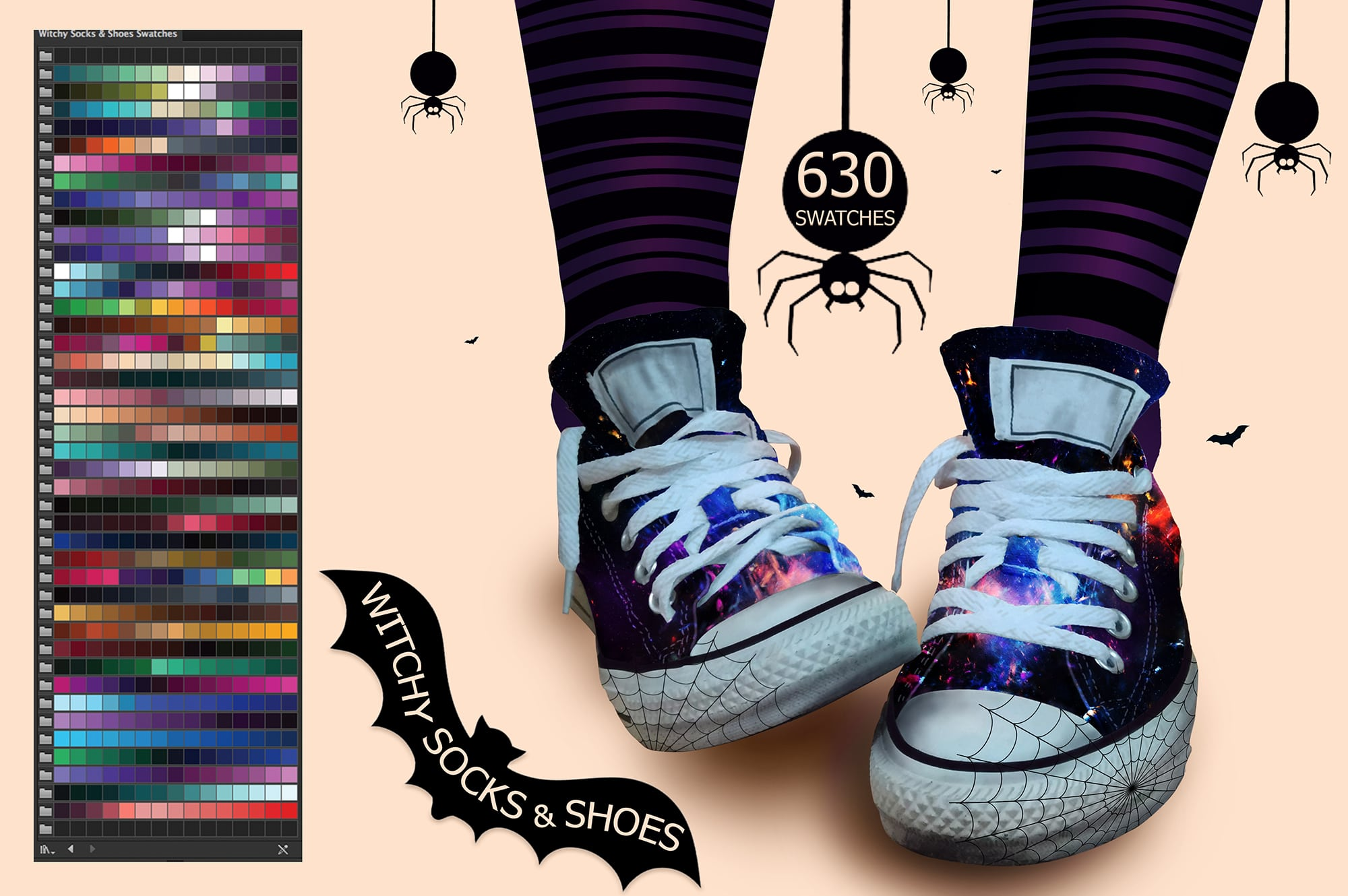 6924 Illustrator Swatches and Digital Painting - 2 min