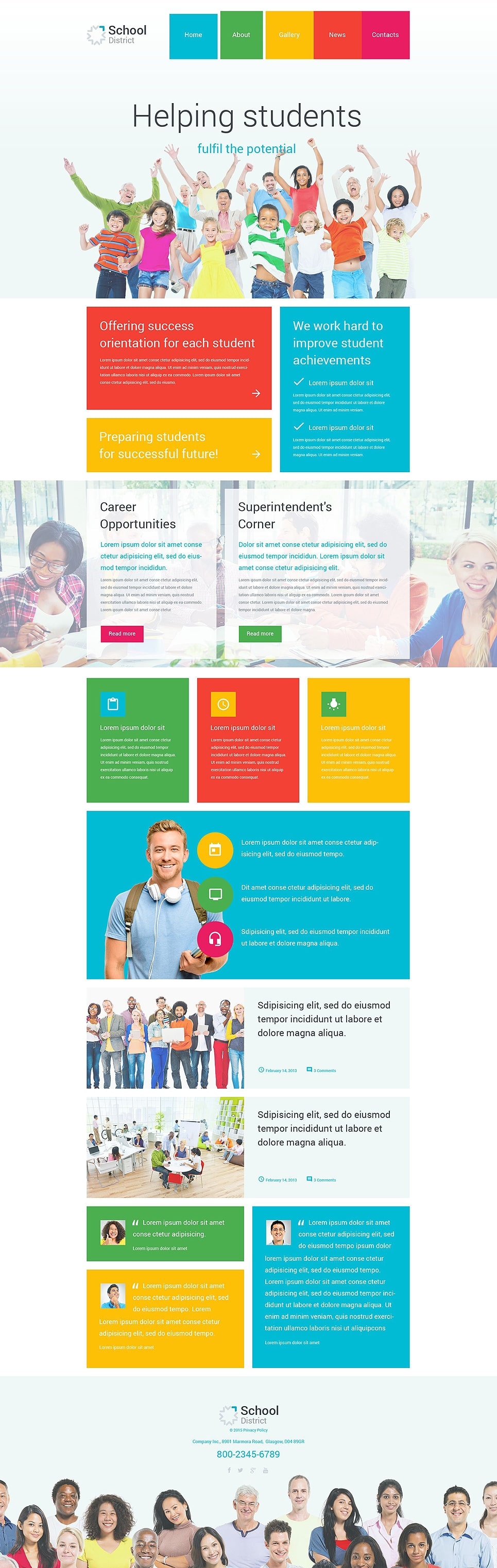 School District PSD Template