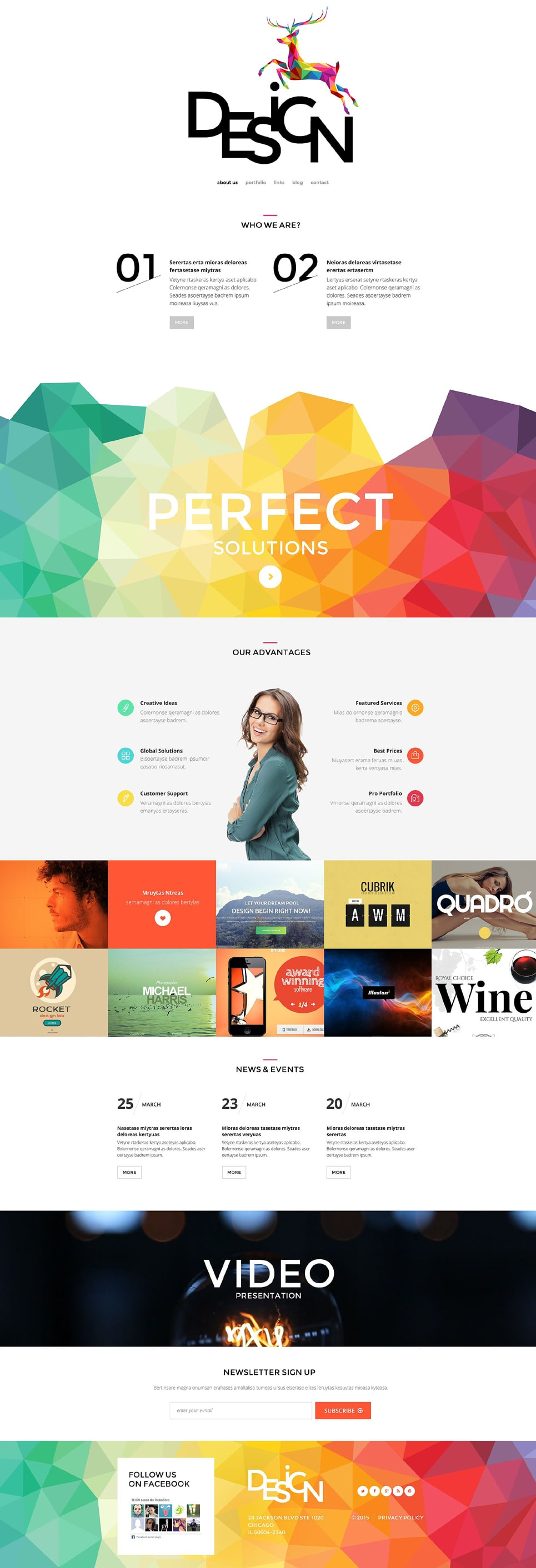 Design PSD Template