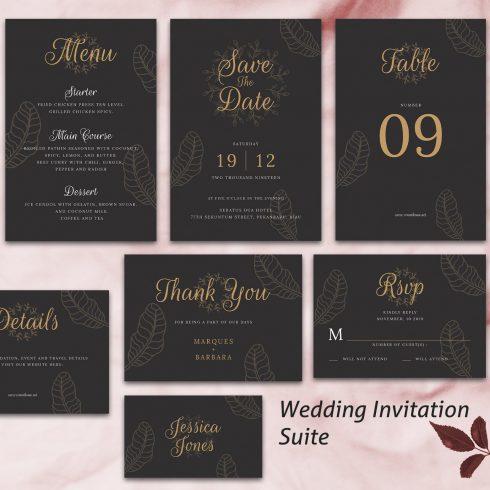 Wedding Invitation Suite - $4 - 600 21 490x490