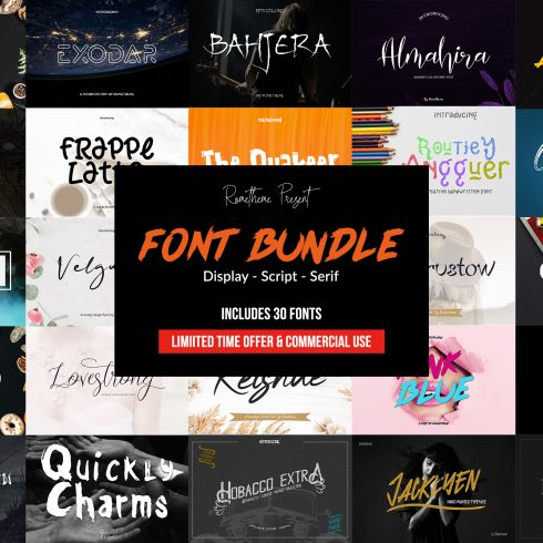 50+ Trendy Whimsical Fonts for Typography 2021