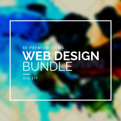 Creative Web Design Bundle with 50 Premium Items - Only $19 - 600 29 490x490