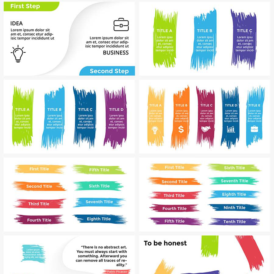 Abstract Infographic cover image.