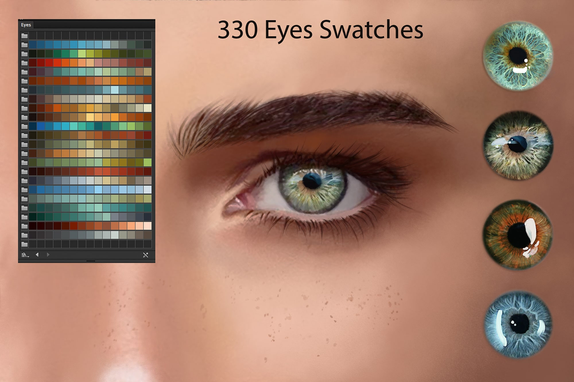 6924 Illustrator Swatches and Digital Painting - 8 min