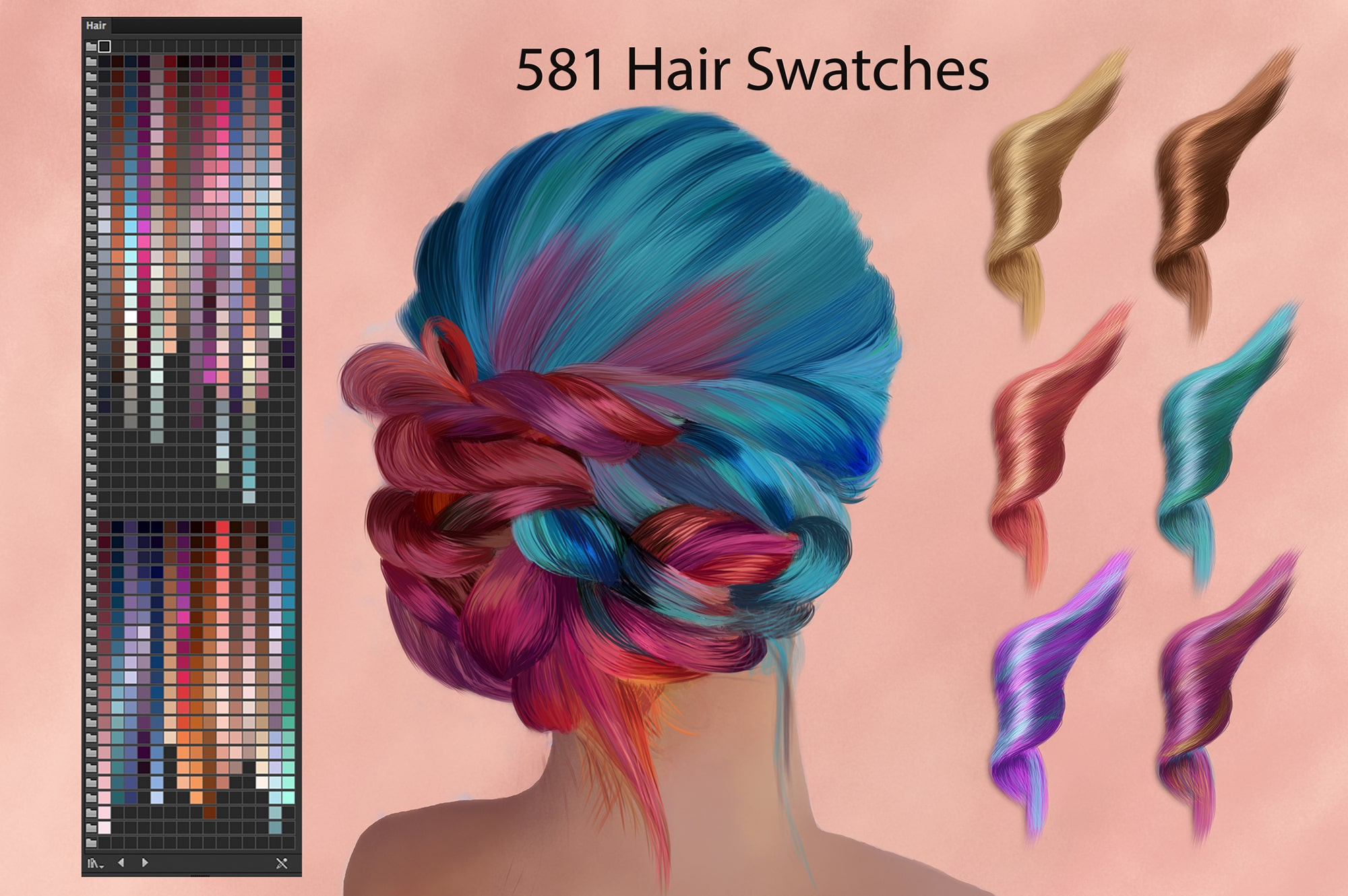 6924 Illustrator Swatches and Digital Painting - 9 min