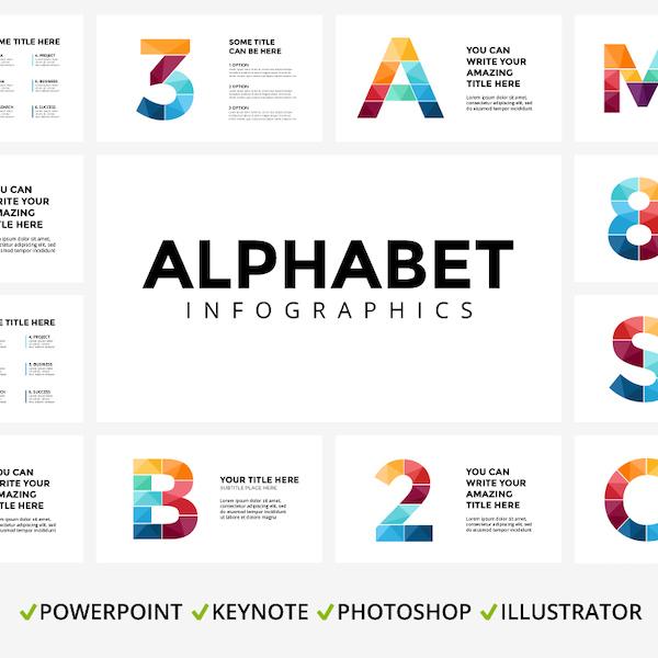 ALPHABET - Infographic Slides main cover image.