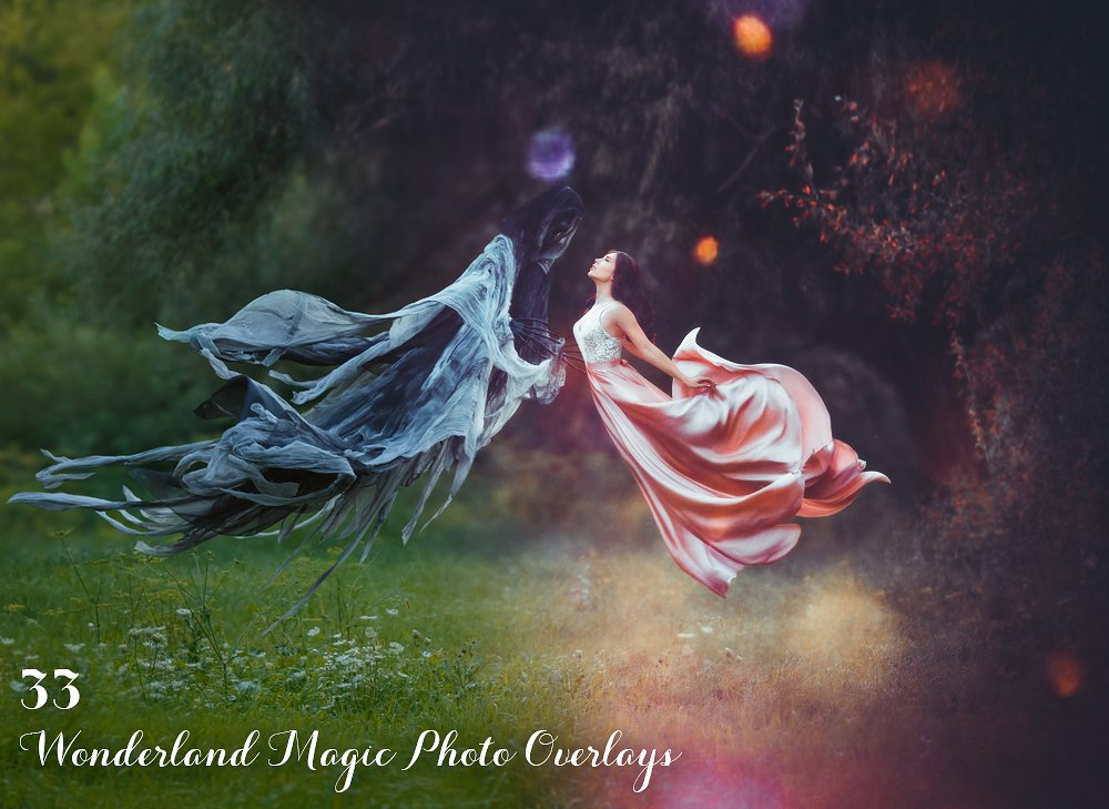 33 Wonderland Magic Photo Overlays - $15 - main image 1 1