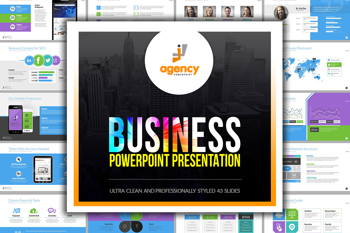 20 Premium PowerPoint and Keynote Templates - 01 Business Growth Editable Infographic PowerPoint PPT PPTX Presentation Template