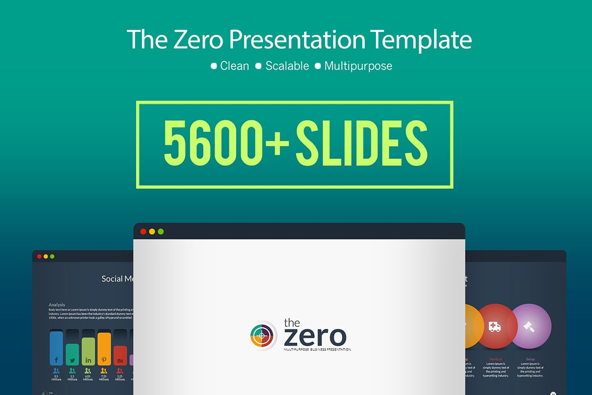 20 Premium PowerPoint and Keynote Templates - 01 Business Infographic Presentation Template min