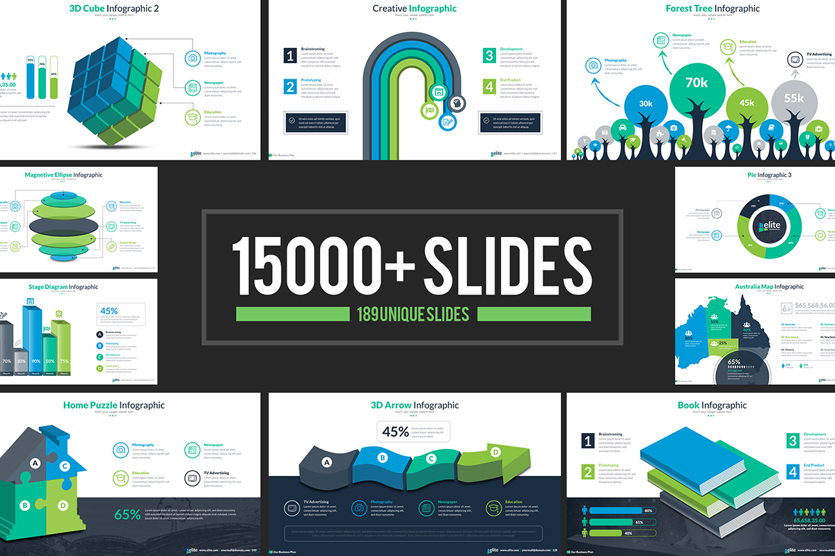 20 Premium PowerPoint and Keynote Templates - 01 PowerPoint Presentation Template Cover Image
