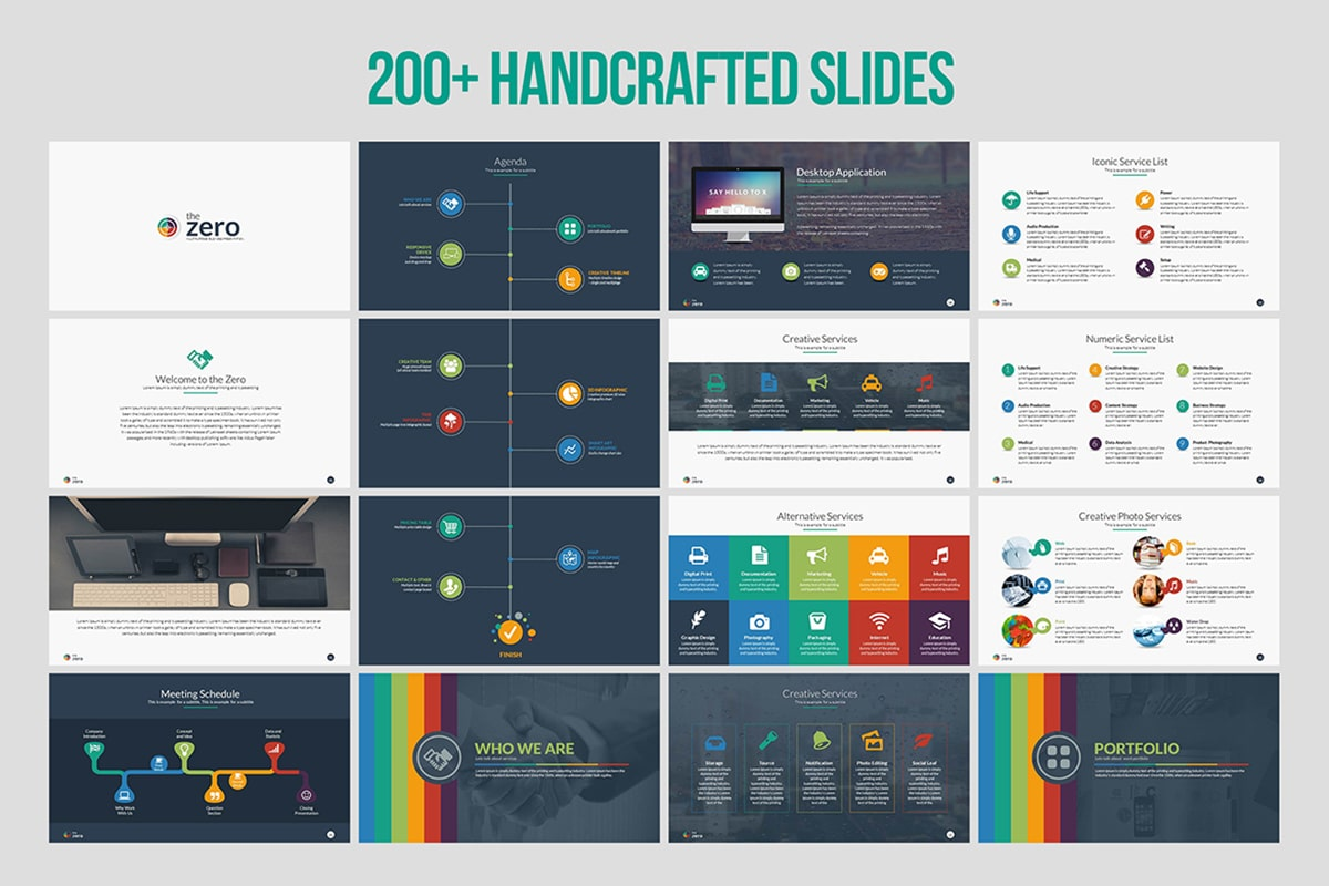 20 Premium PowerPoint and Keynote Templates - 02 min 1
