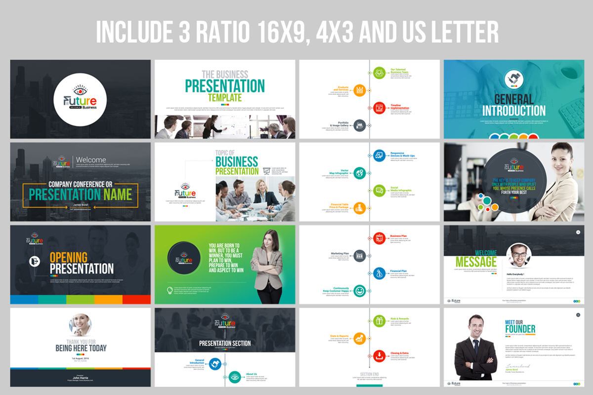 20 Premium PowerPoint and Keynote Templates - Master Bundles