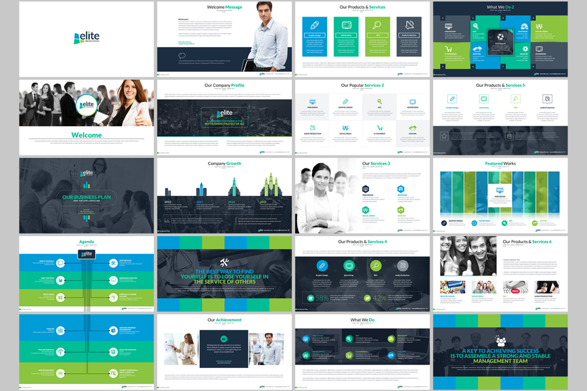 20 Premium PowerPoint and Keynote Templates - 02 ContactSheet 001