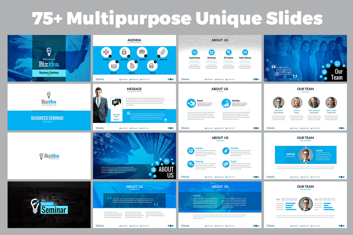 20 Premium PowerPoint and Keynote Templates - 02 Miltipurpose Business PowerPoint Presentation