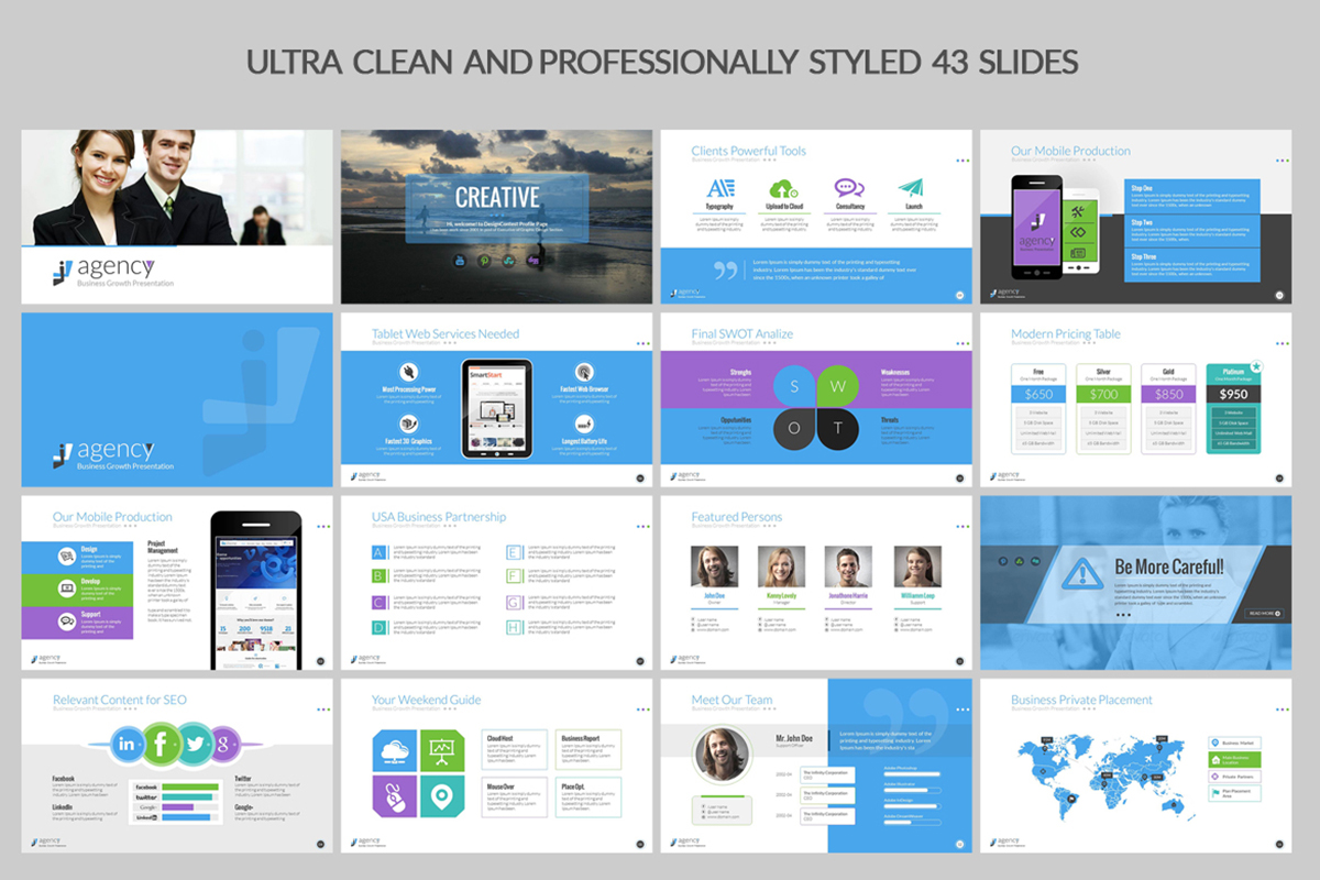 20 Premium PowerPoint and Keynote Templates - 02 PowerPoint template