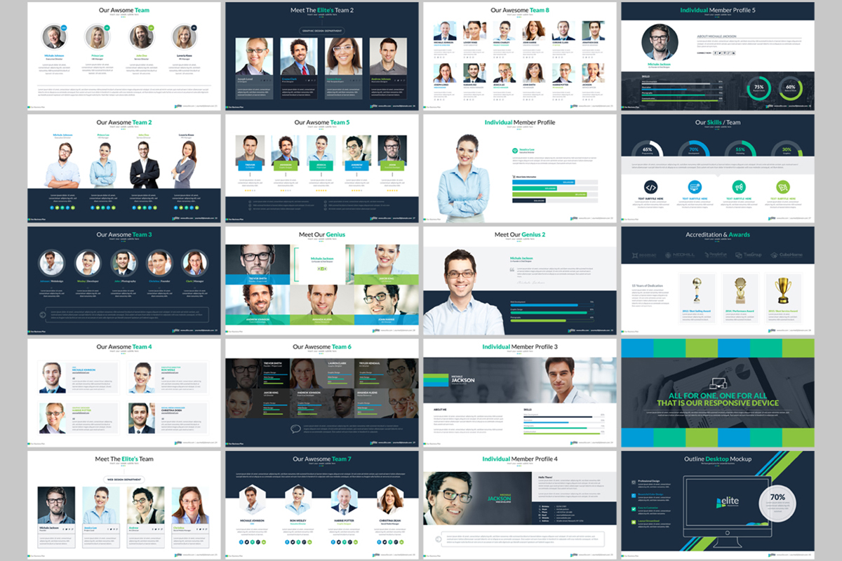 20 Premium PowerPoint and Keynote Templates - 03 ContactSheet 002