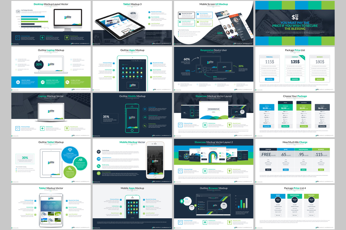 20 Premium PowerPoint and Keynote Templates - 04 ContactSheet 003
