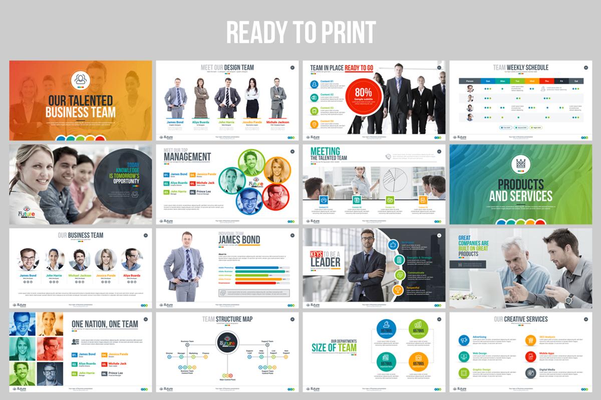 20 Premium PowerPoint and Keynote Templates - 04 Print Ready PowerPoint Presentation
