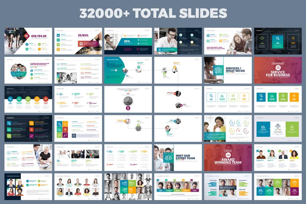 20 Premium PowerPoint and Keynote Templates - 04 best powerpoint presentation design template free download min