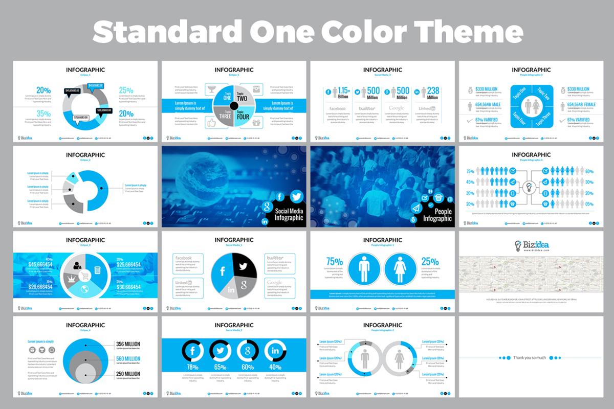 20 Premium PowerPoint and Keynote Templates - 05 Standard Theme Presentation
