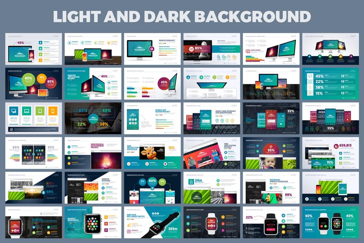 20 Premium PowerPoint and Keynote Templates - 07 Light and dark background powerpoint presentation min