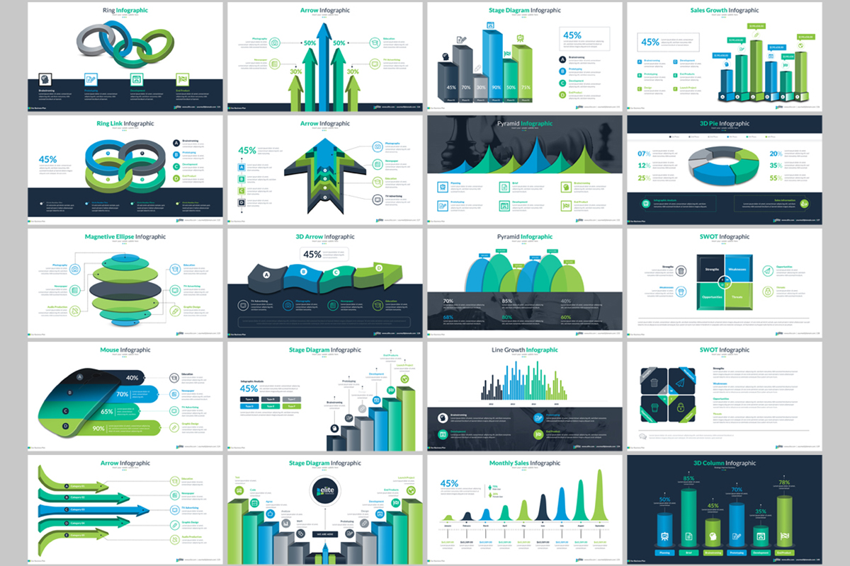 20 Premium PowerPoint and Keynote Templates - 08 ContactSheet 007