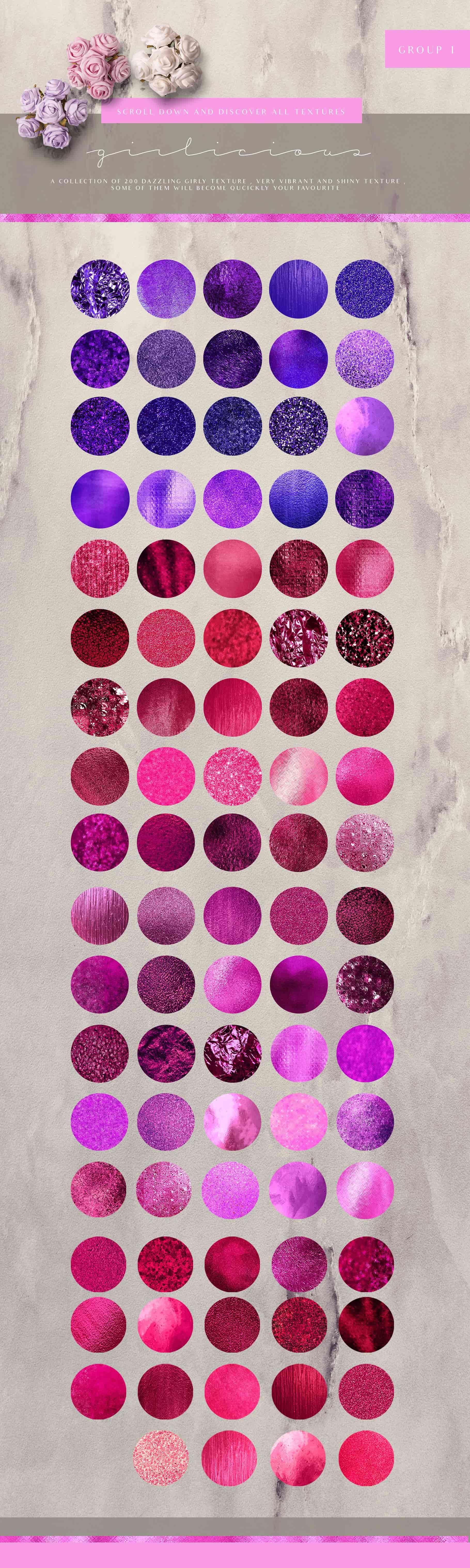 Girlicious Textures Bundle