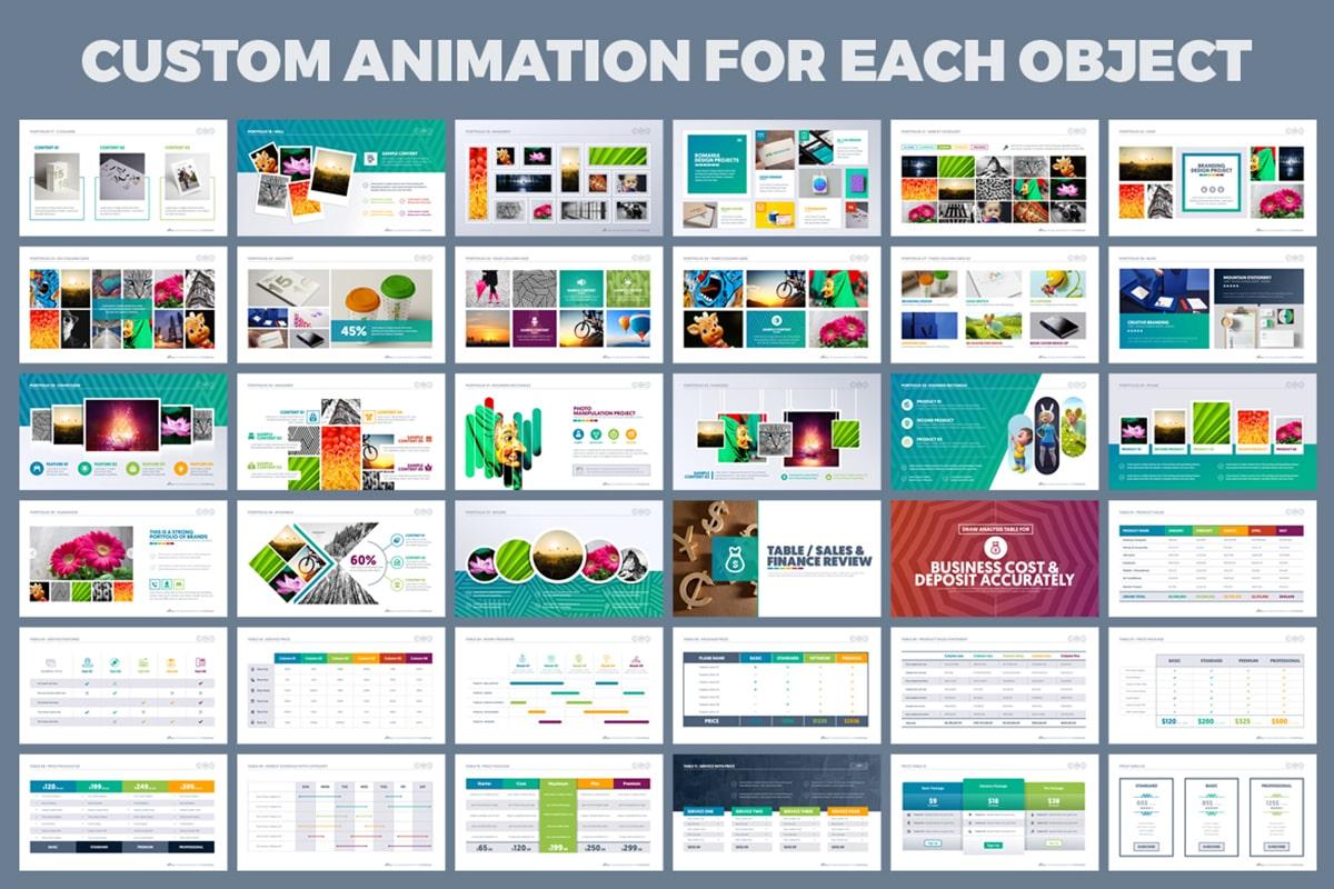 20 Premium PowerPoint and Keynote Templates - 10 Custom animated presentation min