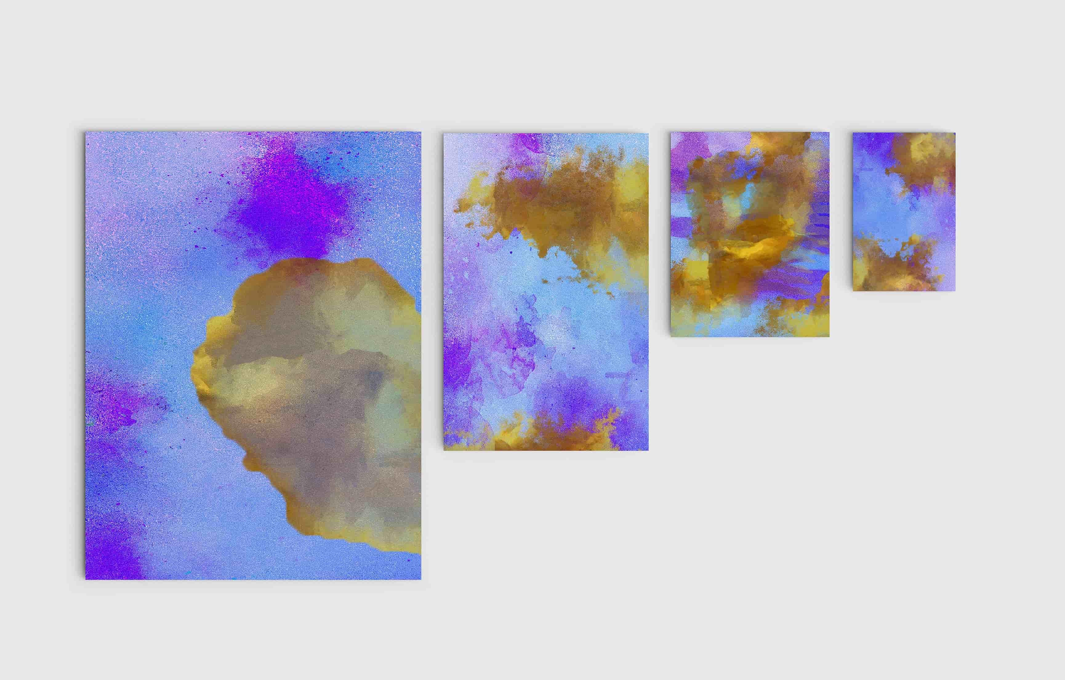 Huge Gold foil Textures Bundle