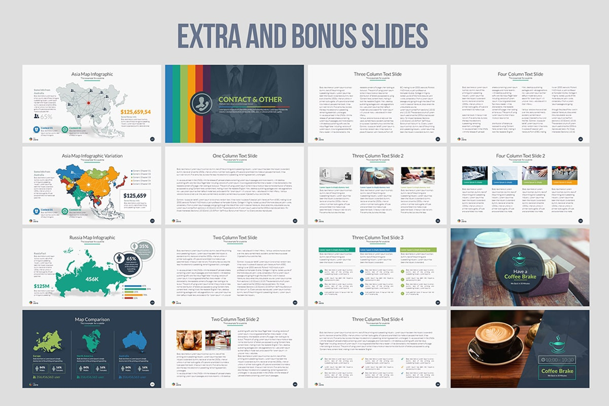 20 Premium PowerPoint and Keynote Templates - 13 min