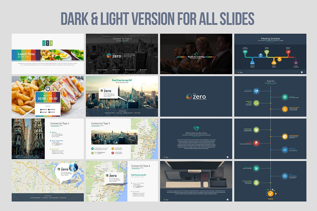 20 Premium PowerPoint and Keynote Templates - 14 min