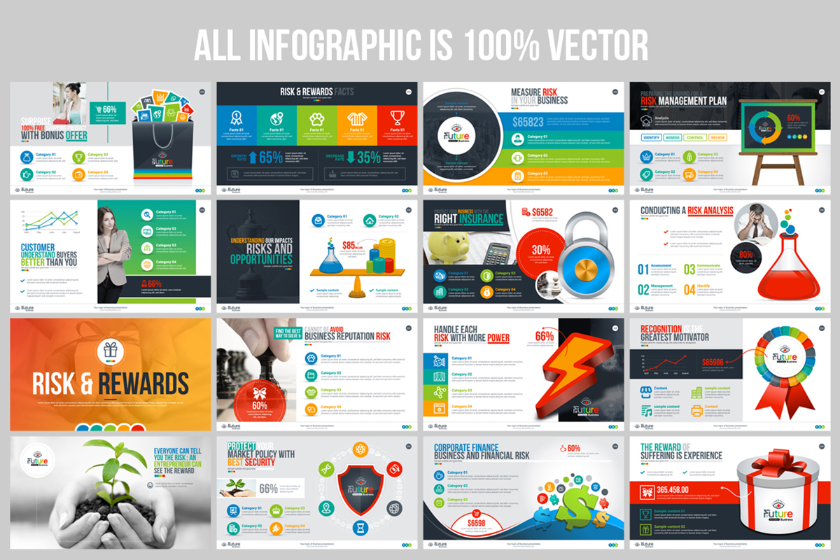 20 Premium PowerPoint and Keynote Templates - 16 100  Editable PowerPoint Presentation Template