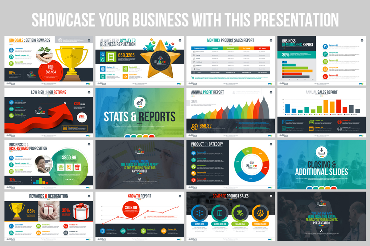 20 Premium PowerPoint and Keynote Templates - 17 Business Showcase Business Plan PowerPoint Presentation Template