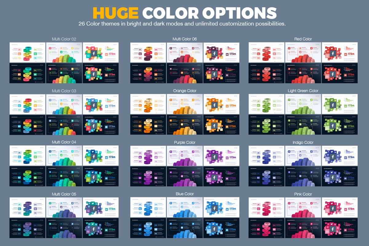 20 Premium PowerPoint and Keynote Templates - 17 Huge Color Options powerpoint presentation template min