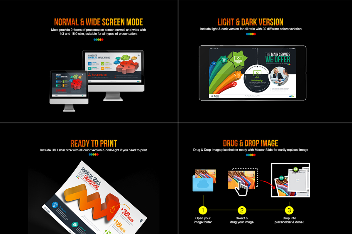 20 Premium PowerPoint and Keynote Templates - 23 Powerpoint presentation rating
