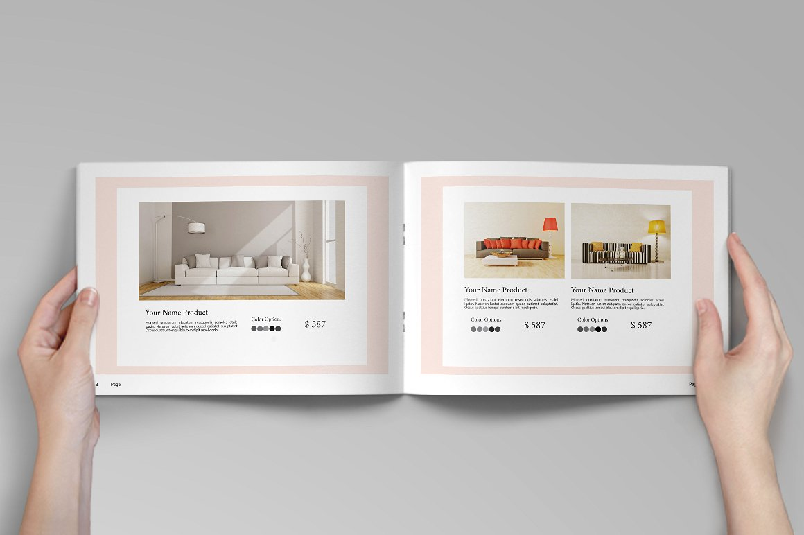 Catalogue Interior 26 InDesign Pages