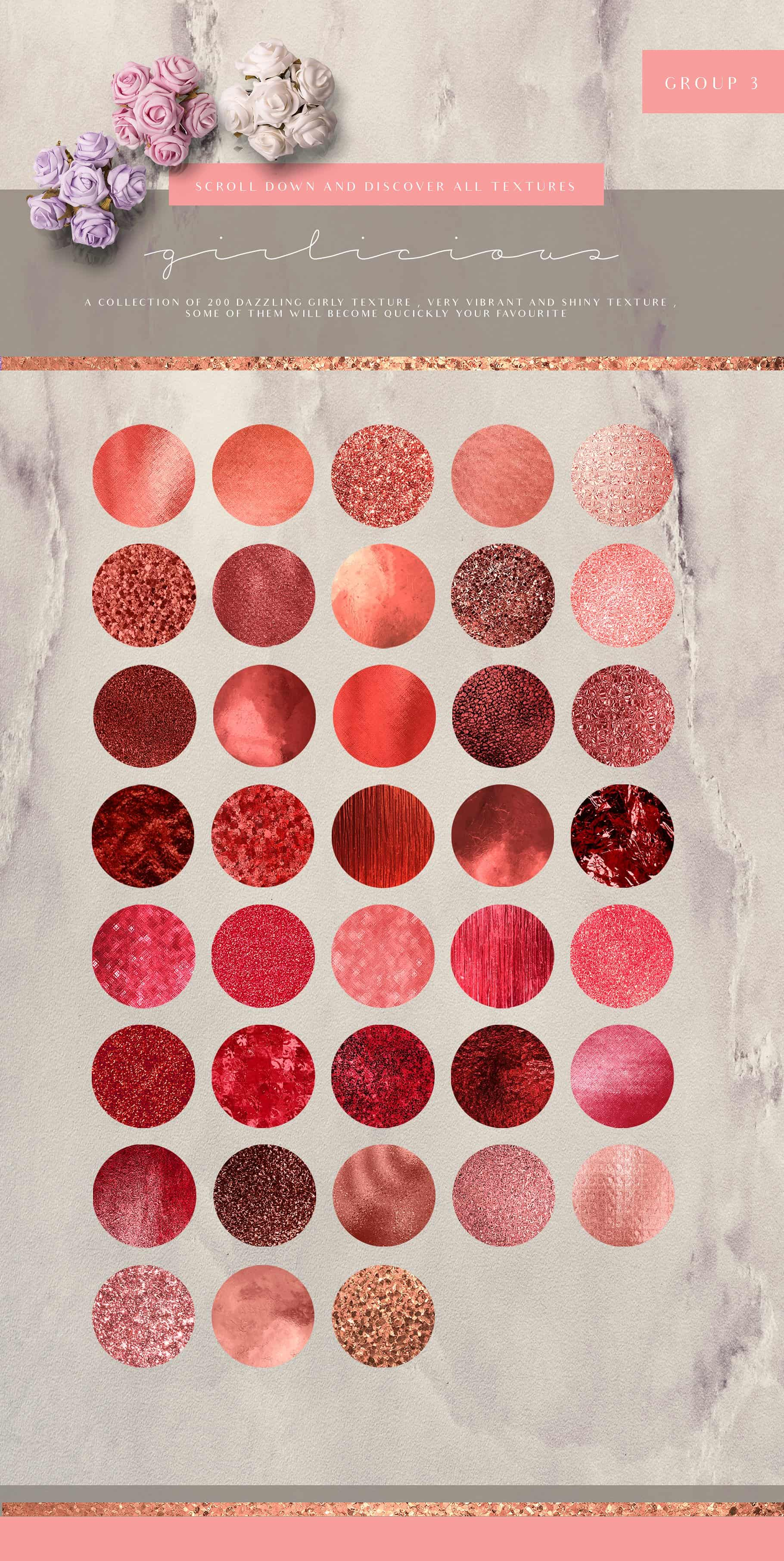Girlicious Textures Bundle