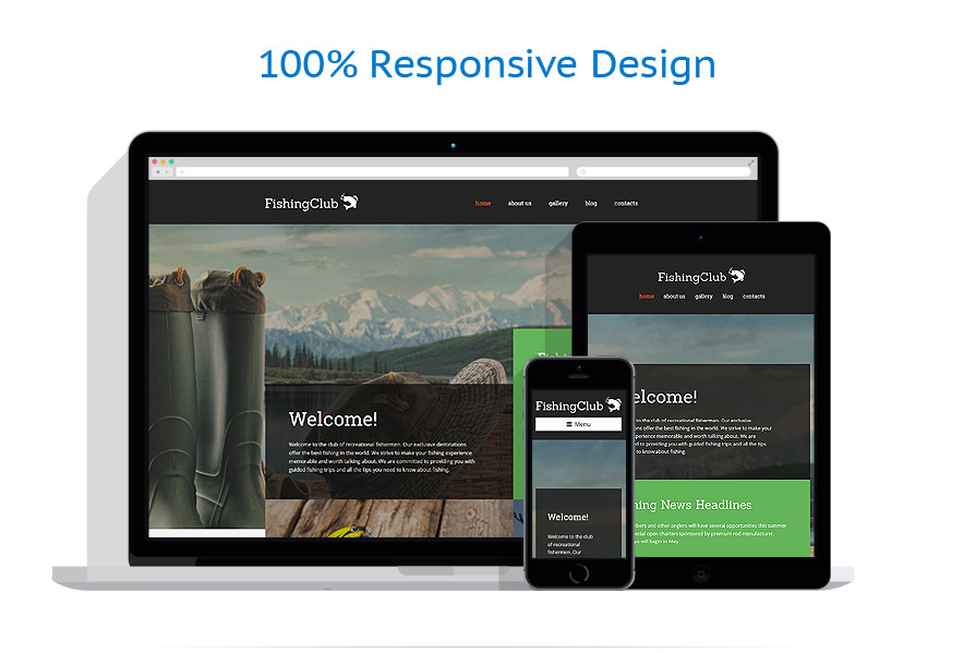 5 WordPress themes for $9 only - 57738 responsive layout