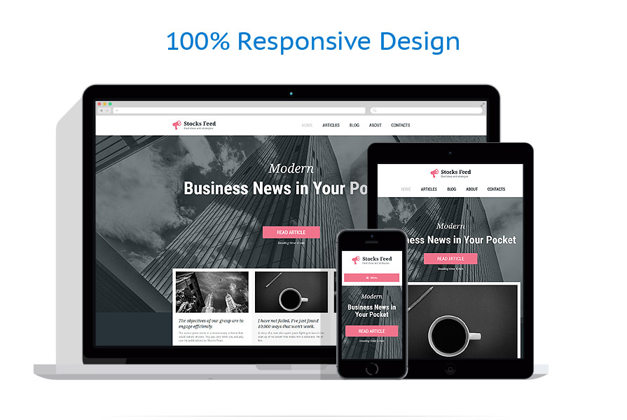 5 WordPress themes for $9 only - 57865 responsive layout
