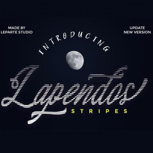 Lapendos Stripes t-shirt Font - $2 - 600 13 490x490