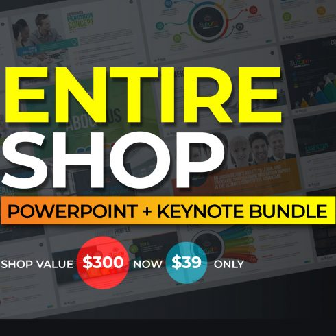20 Premium PowerPoint and Keynote Templates - 600 23 490x490