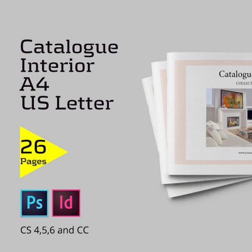 Catalogue Interior 26 InDesign Pages - $5 - 600 3 490x490