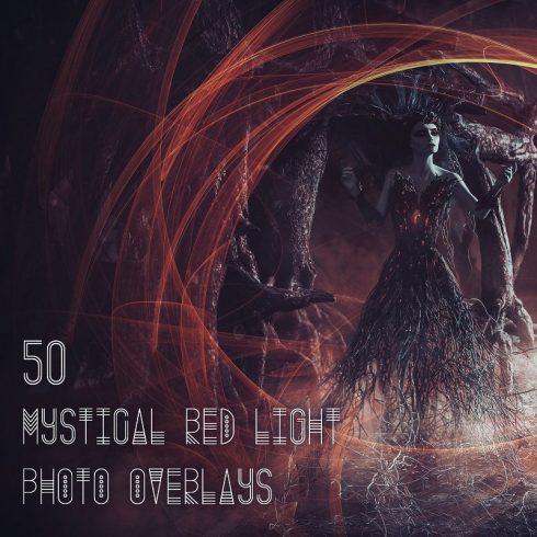 50 Mystical Red Light Photo Overlays - 600 31 490x490