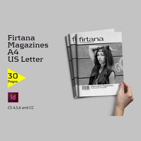 Firtana Magazines A4/US Letter - just $5 - 600 35 490x490