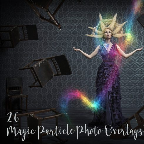 26 Magic Particle Photo Overlays - $7 - 600 490x490