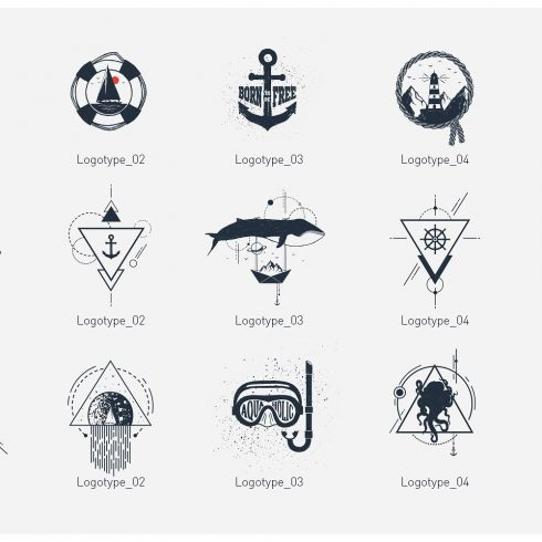 Welcome Aboard. 15 Awesome Logos & Badges - 600 7 490x490